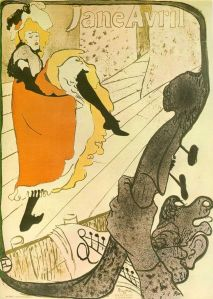 Toulouse Lautrec: Jane Avril (1892)