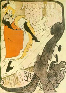 Toulouse Lautrec: Jane Avril (1892)