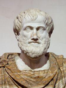 Aristoteles (384 - 322 v. Chr.) erhebt die Ethik zu einer eigenständigen philosophischen Disziplin.