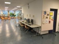Reichlich Platz zum Lesen und Recherchieren: Die Stadtteilbibliothek.