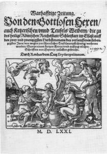 Hexenverfolgungen der frühen Neuzeit