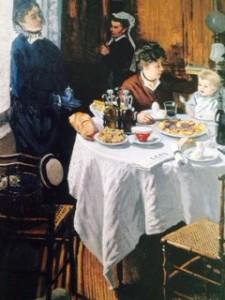 Claude Monet, Das Mittagessen