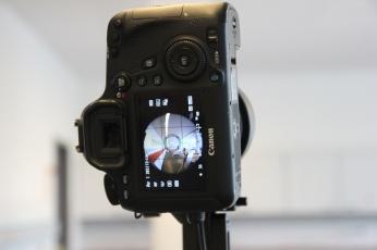 Ein Blick auf die Fish-Eye-Camera
