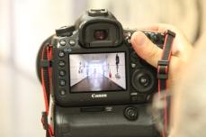 Ein Blick auf das Kamera-Display
