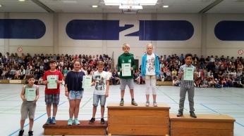 Siegerehrung Bundesjugendspiele 201512