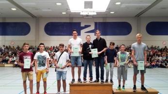 Siegerehrung Bundesjugendspiele 201515