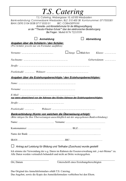 Klicken Sie das Dokument an und drucken es anschließend aus.
