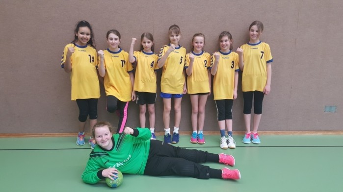 Handball Mädchen 012016
