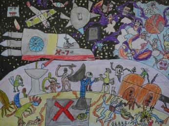 Weltraumfantasie