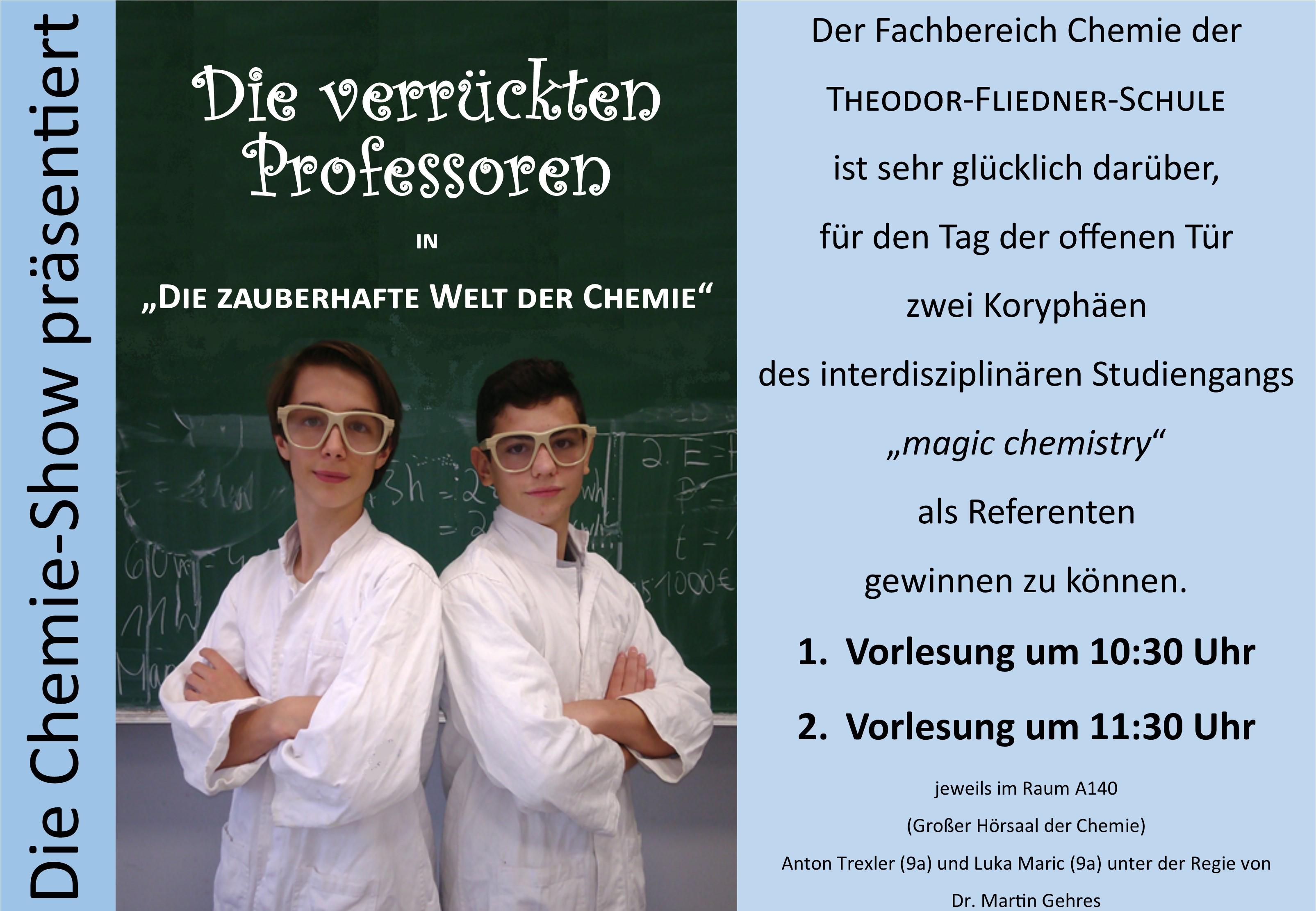 Plakat Chemie Show 2019 a